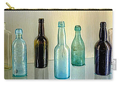 Seven Old Bottles Carry-all Pouch