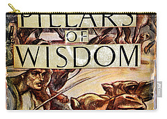 Seven Pillars Of Wisdom Lawrence Carry-all Pouch by Jay Milo