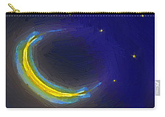 Seven Stars And The Moon Carry-all Pouch by RC deWinter