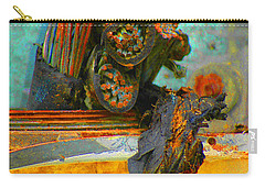 Carry-all Pouch featuring the photograph Severed  by Christiane Hellner-OBrien