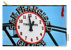 San Francisco Giants Baseball Time Sign Carry-all Pouch