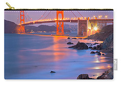 Carry-all Pouch featuring the photograph Sf Icon by Jonathan Nguyen