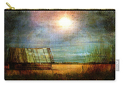 Shack On The Prairie Corner  Carry-all Pouch by Sandra Foster