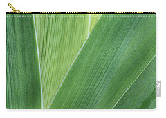 Carry-all Pouch featuring the photograph Shades Of Green #2 by Judy Whitton