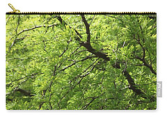 Carry-all Pouch featuring the photograph Shades Of Green by Amy Gallagher