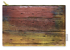 Shades Of Red And Yellow Carry-all Pouch by Ron Harpham