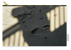 Shadow In The Sand Carry-all Pouch