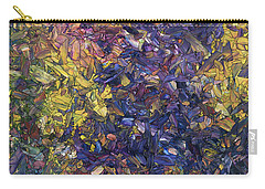 Carry-all Pouch featuring the painting Shadow Dance by James W Johnson