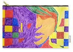 Carry-all Pouch featuring the painting Prince Gemini   by Stormm Bradshaw