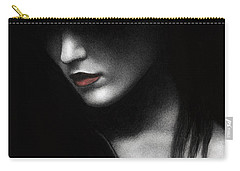 Shadowed In My Mind Carry-all Pouch by Pat Erickson