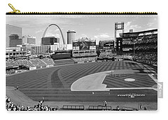Shadows At Busch B-w Carry-all Pouch