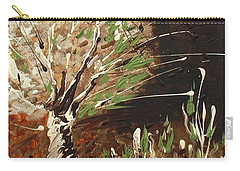 Carry-all Pouch featuring the painting Shadows by Holly Carmichael