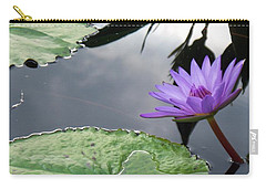 Shadows On A Lily Pond Carry-all Pouch