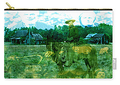 Shadows On The Land Carry-all Pouch