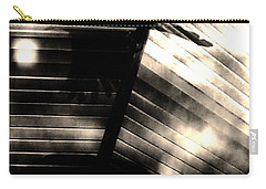 Carry-all Pouch featuring the photograph Shadows Symphony  by Jessica Shelton