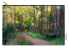 Carry-all Pouch featuring the photograph Shady Dell by Kate Brown