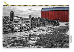 Shakertown Red Barn - Sc Carry-all Pouch by Mary Carol Story