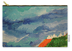 Carry-all Pouch featuring the painting Shangri-la by First Star Art