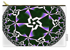 Shards Of Twiliths Carry-all Pouch by Danuta Bennett