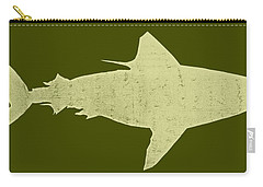 Shark Carry-all Pouch by Michelle Calkins