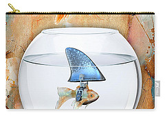 Shark Tale Carry-all Pouch