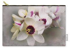 Carry-all Pouch featuring the photograph Sharon by Elaine Teague