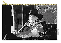 Carry-all Pouch featuring the photograph Sharon Stone The Quick And The Dead Publicity Photo by David Lee Guss