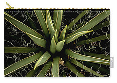 Carry-all Pouch featuring the photograph Sharp Points - Yucca Plant by Steven Milner