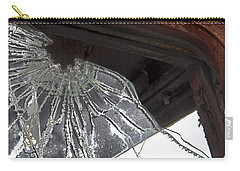 Carry-all Pouch featuring the photograph Shattered by Lynn Sprowl