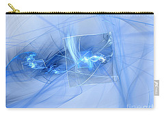 Carry-all Pouch featuring the digital art Shattered by Victoria Harrington