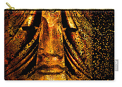 Shattering The Illusion Of Eternity  Carry-all Pouch by Nola Lee Kelsey
