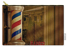 Shave And A Haircut Two Bits  Carry-all Pouch by David and Carol Kelly