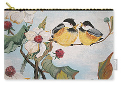 Carry-all Pouch featuring the painting She Said by Sharon Duguay