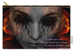 She Turned And Walked Away Carry-all Pouch