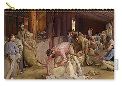 Shearing The Rams  Carry-all Pouch