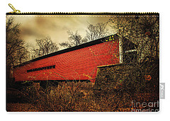 Sheeder Hall Covered Bridge 2 Carry-all Pouch