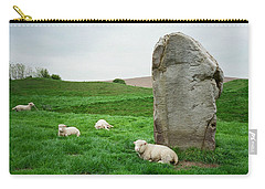 Sheep At Avebury Stones - Original Carry-all Pouch