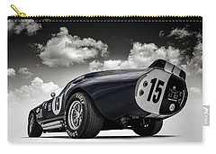 Carry-all Pouch featuring the digital art Shelby Daytona by Douglas Pittman