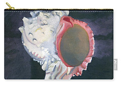 Shell In Opaque Sea Carry-all Pouch
