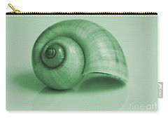 Shell. Light Green Carry-all Pouch