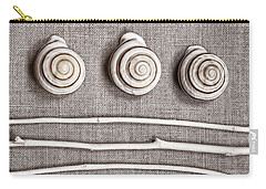Seashells Carry-all Pouches