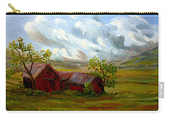 Shelter From The Storm Carry-all Pouch by Meaghan Troup