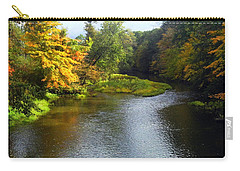 Shenago River @ Iron Bridge Carry-all Pouch