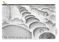 Carry-all Pouch featuring the digital art Shenandoah  by Carol Jacobs