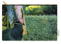 Shepherd And Moon Carry-all Pouch