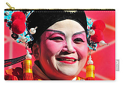 Carry-all Pouch featuring the photograph She's All Smiles by Mike Martin