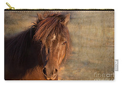 Shetland Pony At Sunset Carry-all Pouch