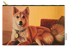 Shiba Inu Portrait Carry-all Pouch