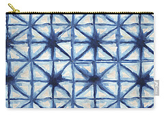 Shibori Iv Carry-all Pouch by Elizabeth Medley
