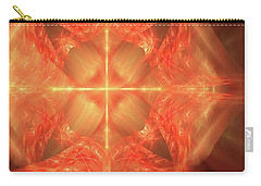 Shield Of Faith Carry-all Pouch by Margie Chapman